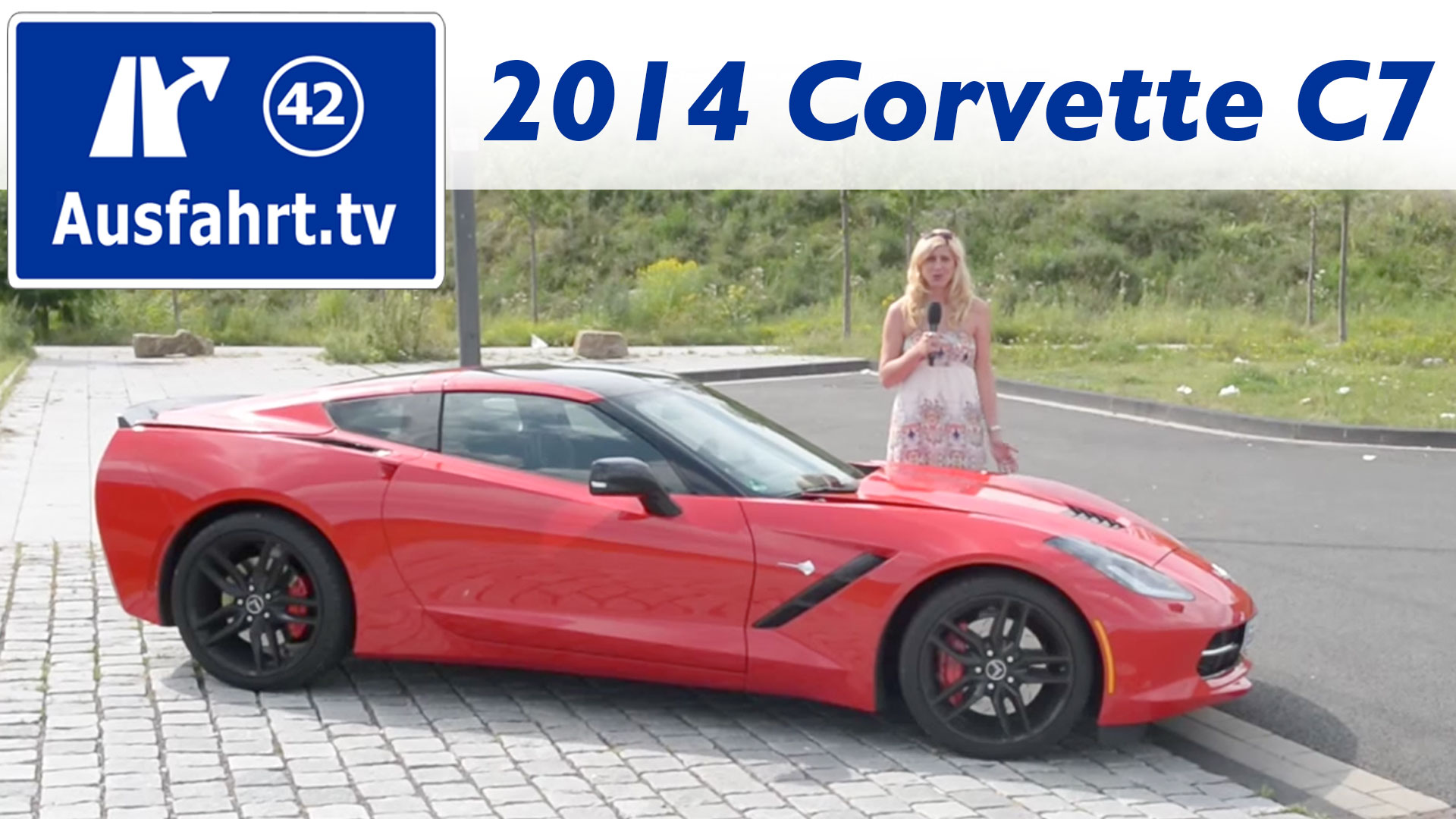 2014 Chevrolet Corvette Stingray C7 Ausfahrt Tv