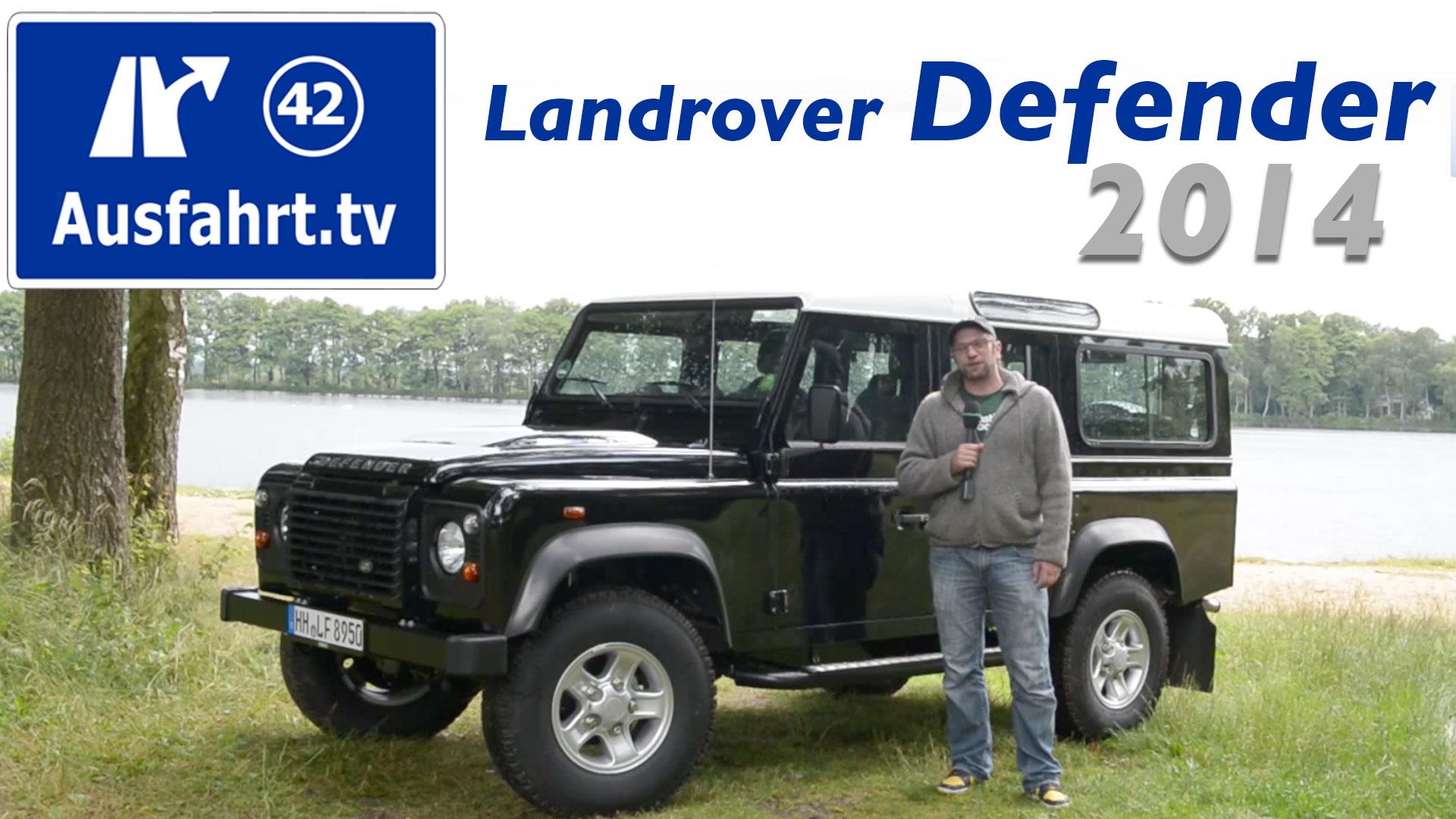 2014 Landrover Defender 110 Station Wagon Se Land Rover