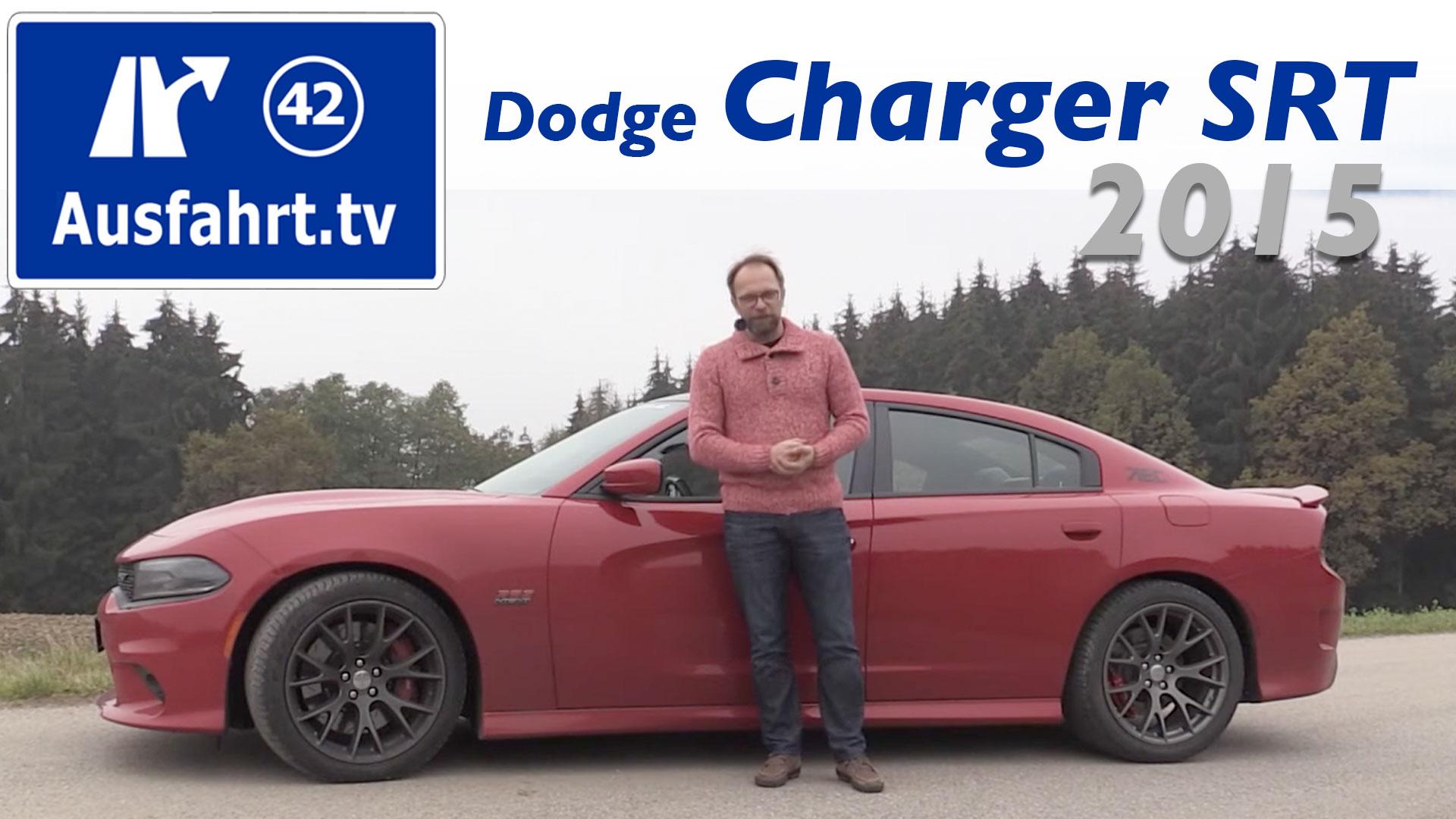 2015 Dodge Charger Srt 392 Ausfahrt Tv