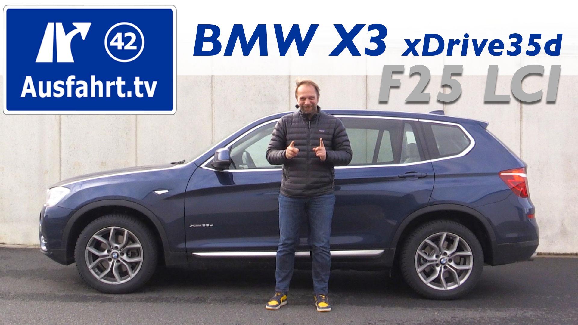 2016 BMW X3 xDrive35d F25 LCI