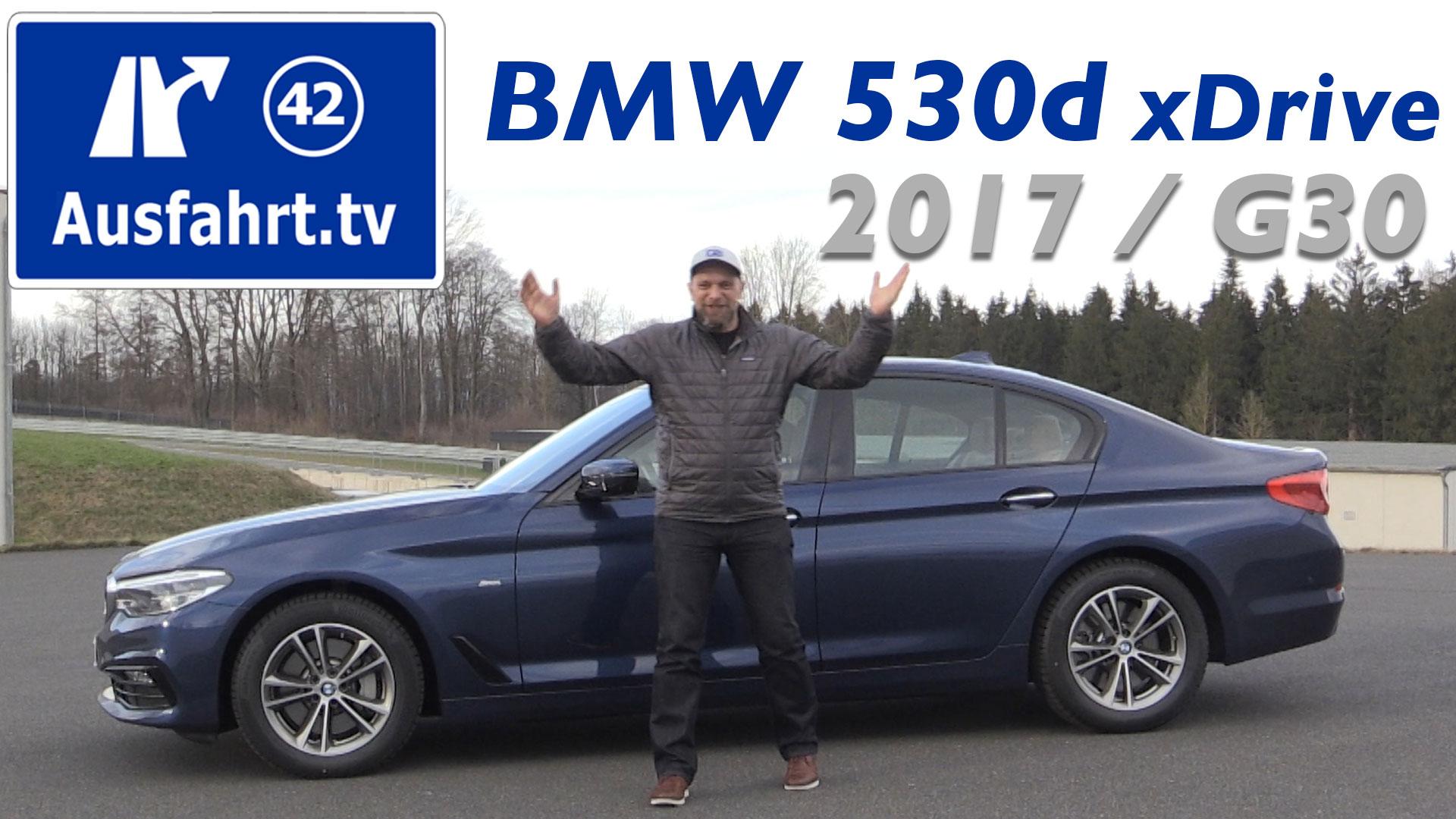 2017 Bmw 530d Xdrive Limousine G30 Ausfahrttv