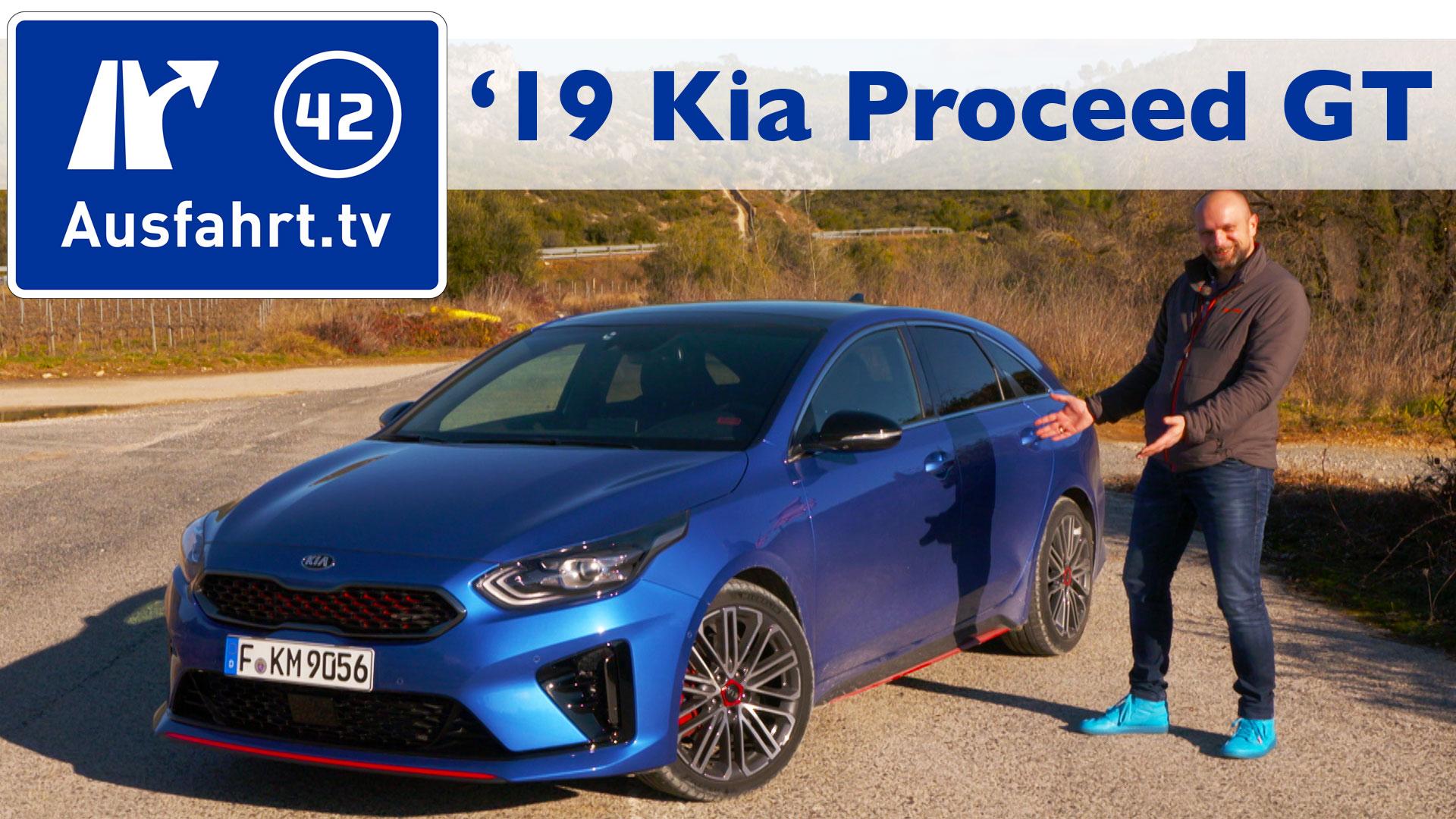 2019 Kia Proceed 1 6t Gdi Gt Ausfahrt Tv
