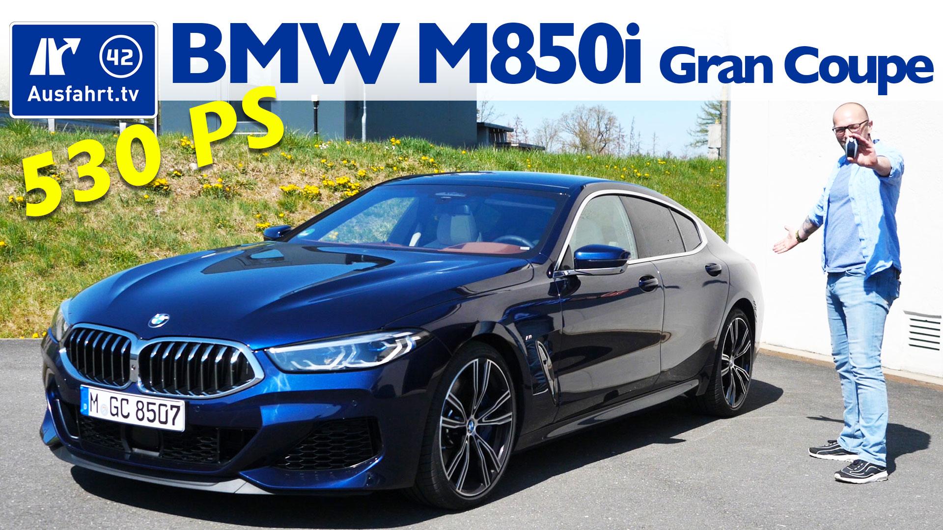2020 Bmw M850i Xdrive Gran Coupe G16 Ausfahrt Tv