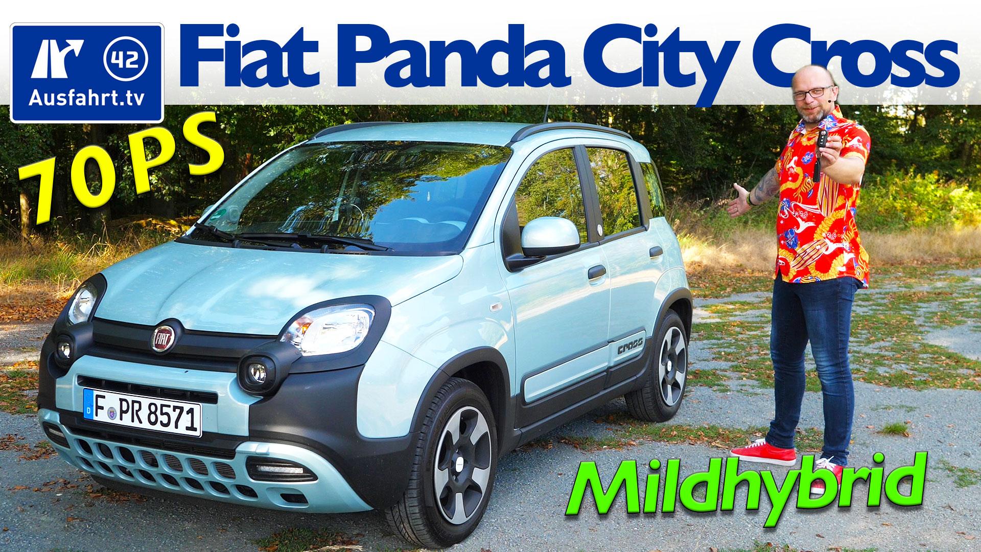 2020 Fiat Panda City Cross Hybrid Launch Edition 1 0 Gse 51kw 70 Ps Ausfahrt Tv